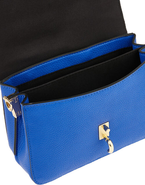 Carly Cross-Body Bag, Blue (COBALT), large