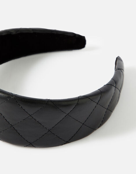 Padded PU Wide Headband , , large