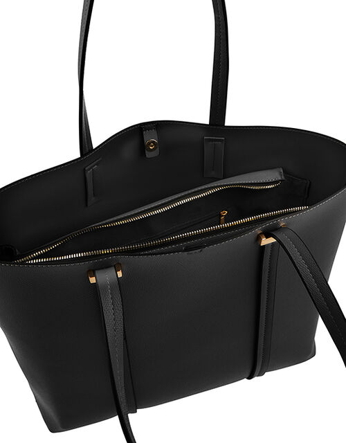 Ali Tote Bag, Black (BLACK), large
