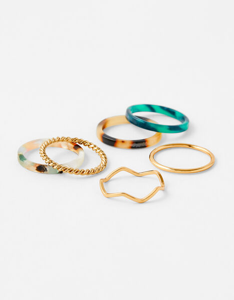 Resin Ring Set Multi, Multi (DARKS-MULTI), large