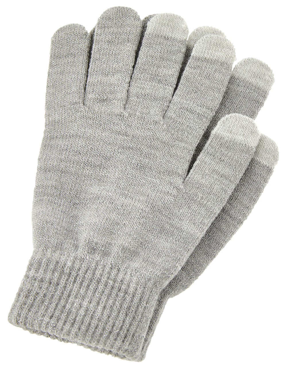 Shimmer Knit Touchscreen Gloves, , large