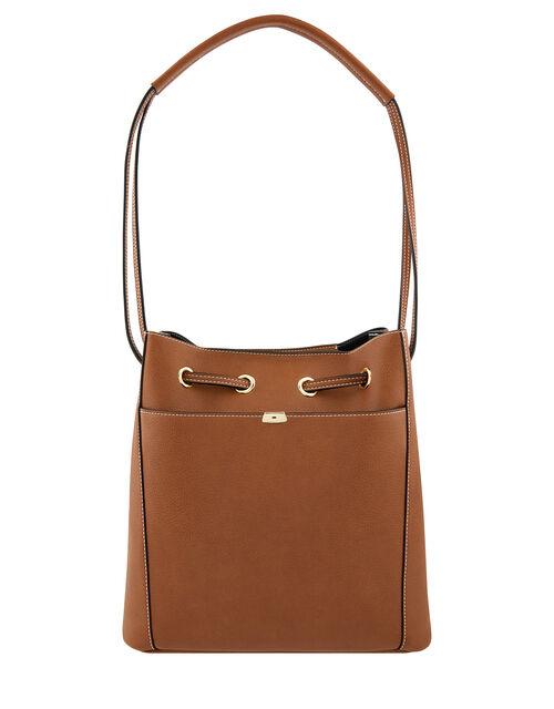 Nerissa Vegan Handbag, Tan (TAN), large