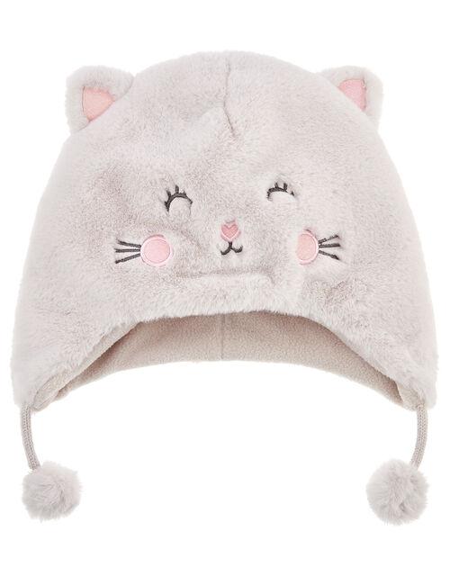 Fluffy Cat Chullo Hat, Multi (PASTEL-MULTI), large