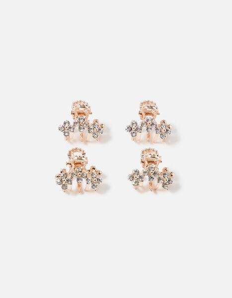Mini Crystal Bulldog Clip Set , , large