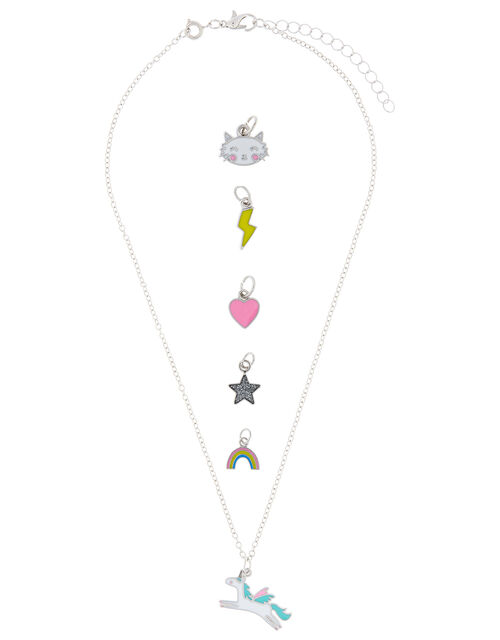 Make-Your-Own Unicorn Charm Necklace, , large