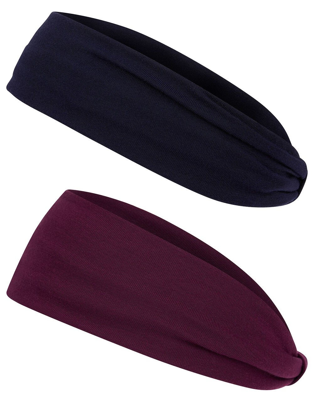 Plain Jersey Bando Headband Set, , large