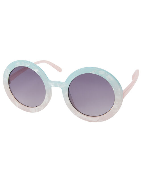 Ombre Round Sunglasses, , large