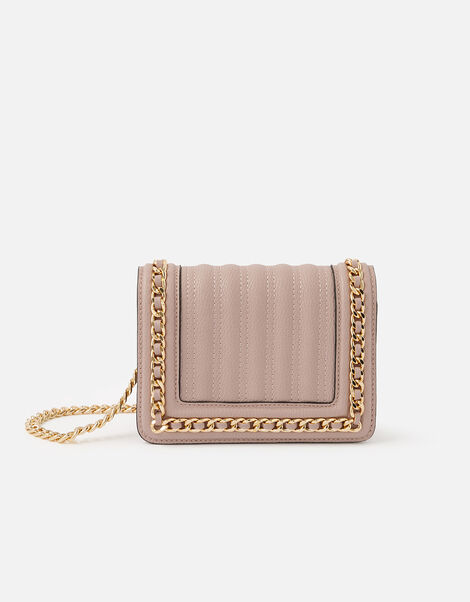 Chain Trim Bag Pink, Pink (PINK), large