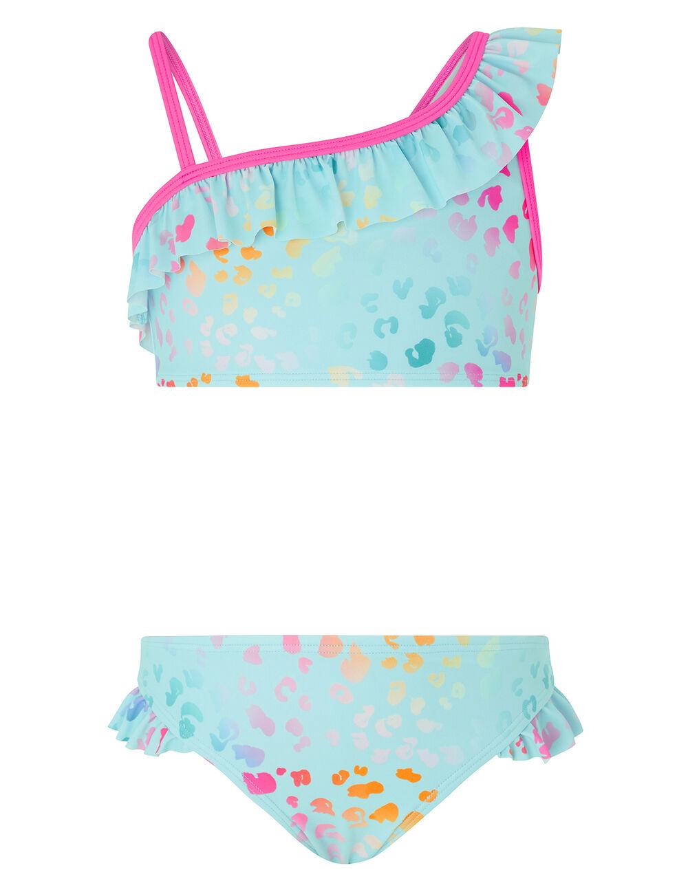 Ombre Animal Print Bikini, Multi (BRIGHTS-MULTI), large