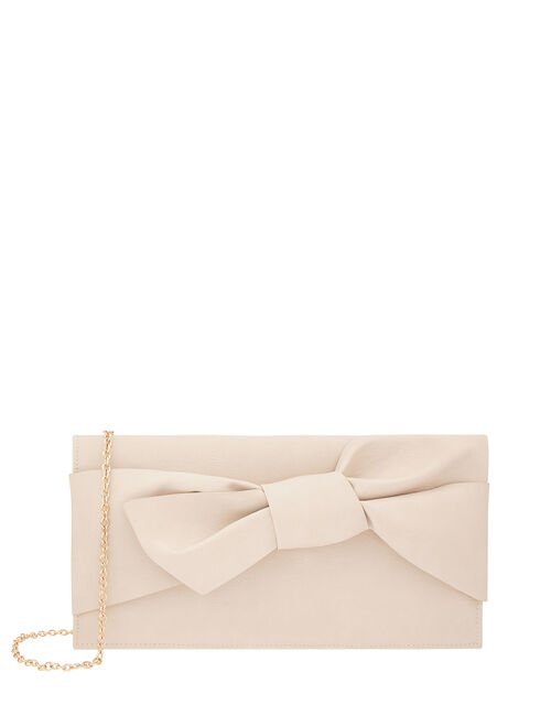 Bow Clutch Bag, , large