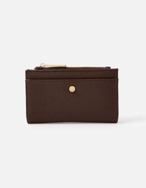 Slim Bi-Fold Wallet Brown, Brown (CHOCOLATE), large