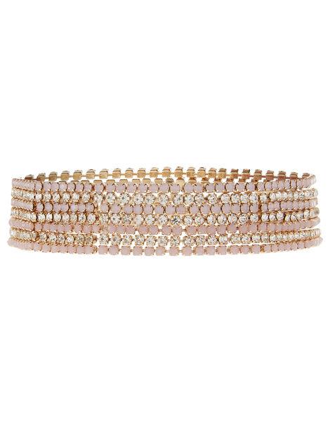 Faith Sparkle Stretch Bracelet Set, , large