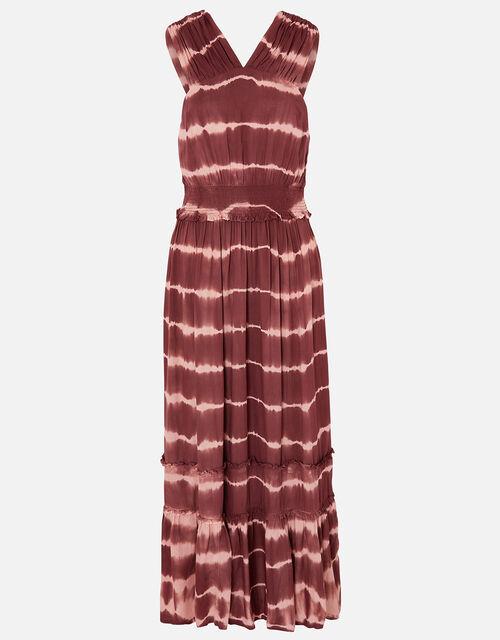 Tie Dye Maxi Dress, Multi (DARKS-MULTI), large