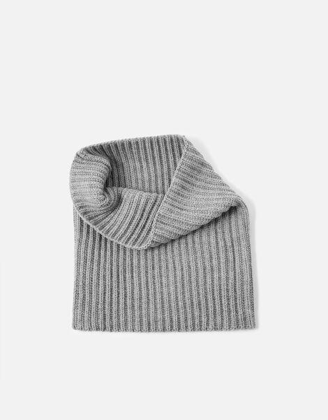 Chunky Knit Snood Grey, Grey (LIGHT GREY), large