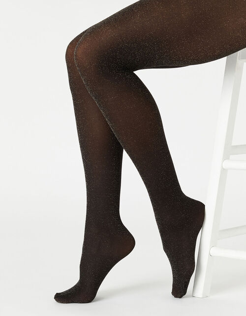 Sparkle Opaque Tights, , large