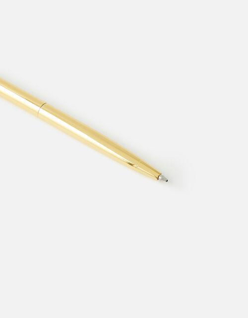 Clear Quartz-Topped Pen, , large