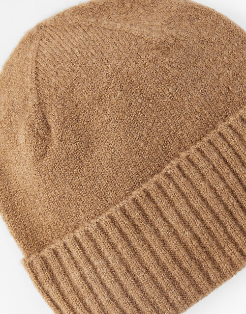 Brooklyn Soft Knit Beanie, Camel (CAMEL), large
