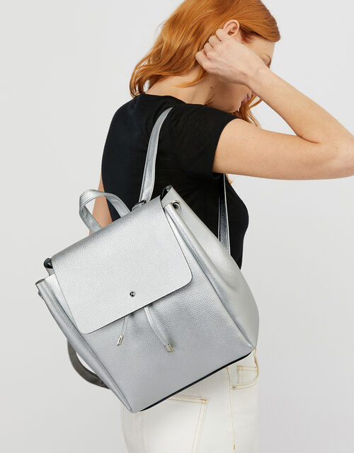 Katie Backpack, Silver (SILVER), large