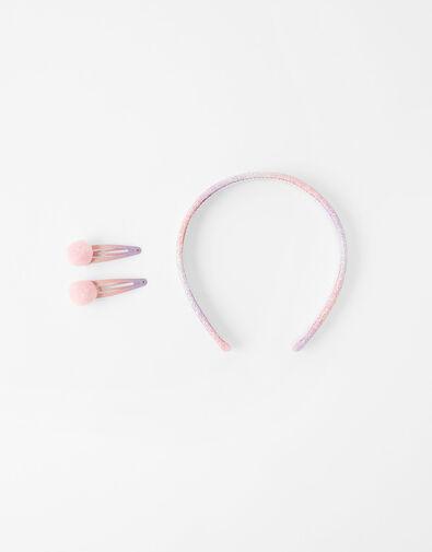 Anna Headband and Hair Clip Set, , large