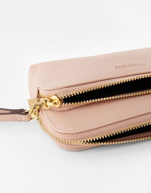 Wristlet Pouch Bag, Nude (NUDE), large