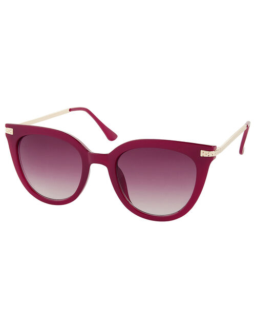 Caroline Cat-Eye Sunglasses, , large
