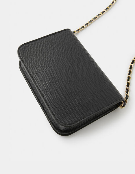 Evie Cross-Body Bag Black, Black (BLACK), large