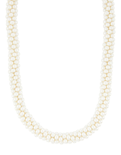 Pearl Bobble Necklace, , large