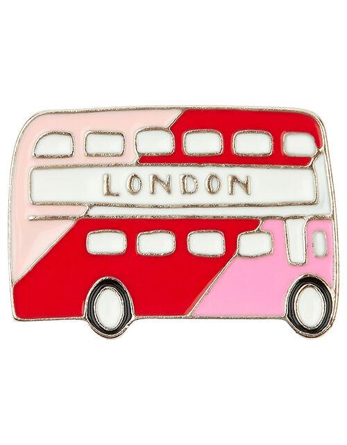 London Bus Pin Badge, , large