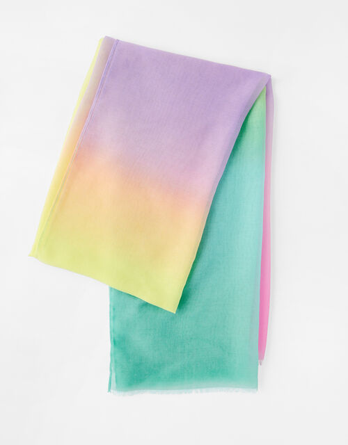 Ombre Rainbow Scarf, , large