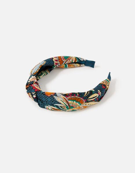 Opulent Paisley Headband , , large