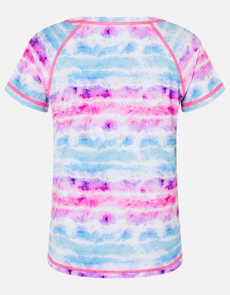 Tie Dye Active T-Shirt Multi, Multi (BRIGHTS-MULTI), large