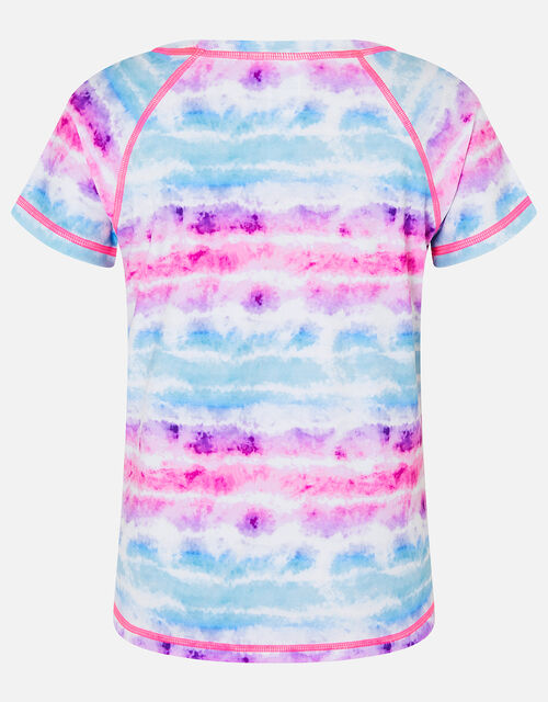 Tie Dye Active T-Shirt, Multi (BRIGHTS-MULTI), large