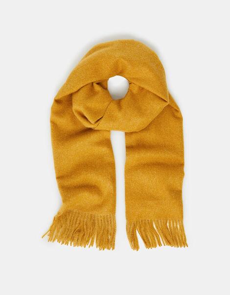 Holly Super-Soft Blanket Scarf Ochre, , large
