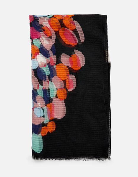 Butterfly Print Scarf, , large