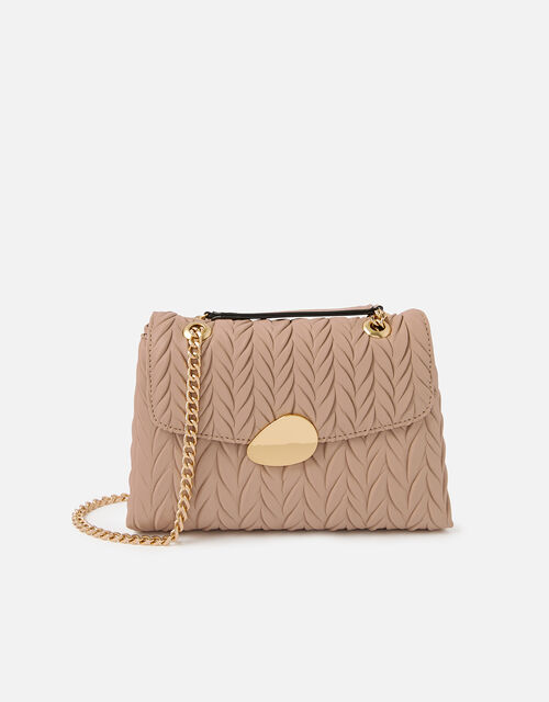 Pleated Ayda Bag, Pink (PINK), large