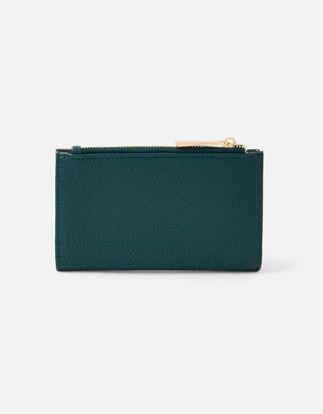 Slim Bi-Fold Wallet Teal, Teal (TEAL), large