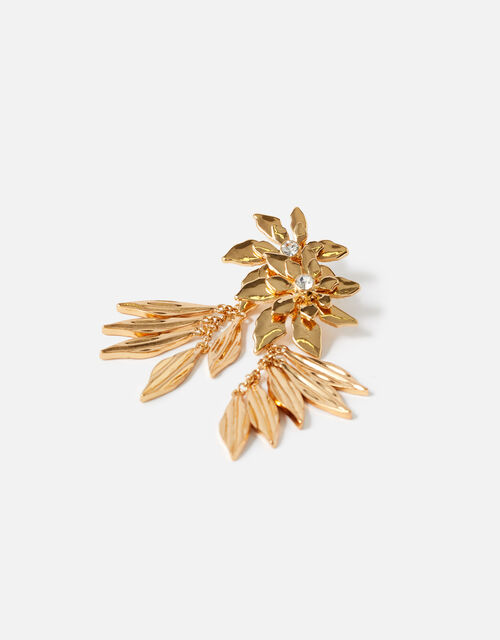 Country Retreat Statement Flower Earrings, , large