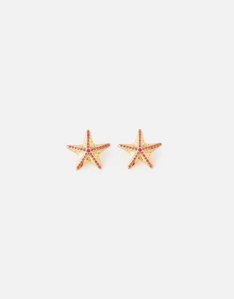 Island Vibes Sabrina Starfish Studs, , large