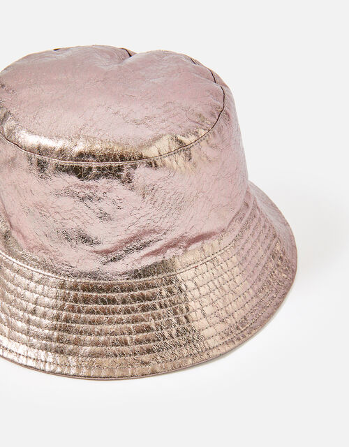 Metallic Bucket Hat , , large