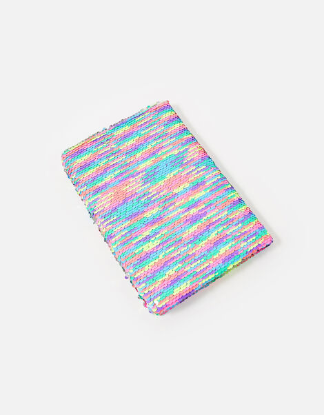 Reversible Sequin Butterfly Notebook , , large