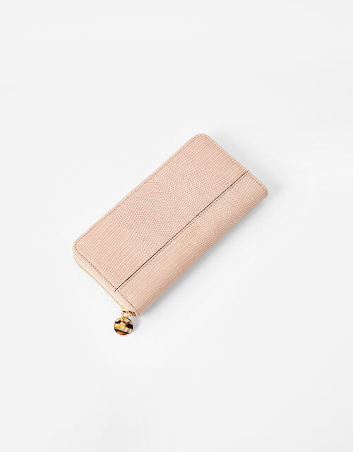 Large Zip-Around Wallet, Pink (PINK), large