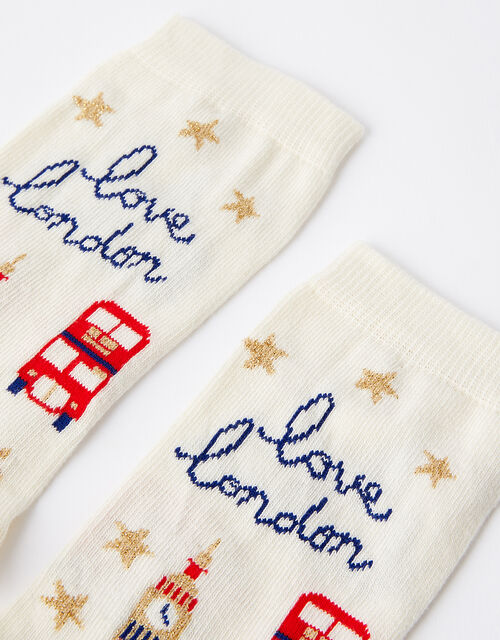 Love London Ankle Socks, , large