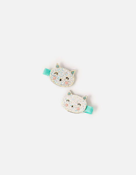 Sparkle Cat Hair Clips, , large