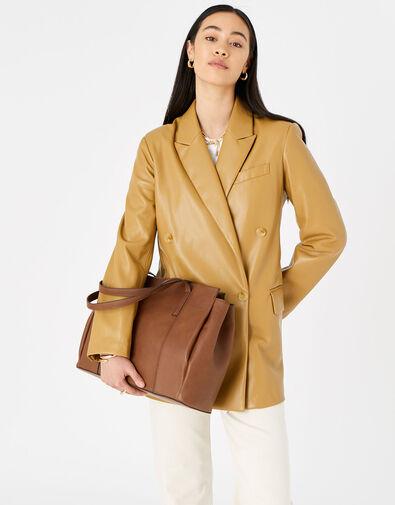 Lauren Work Bag Tan, Tan (TAN), large