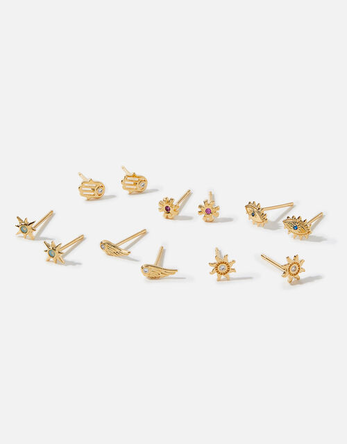 Mindfulness Stud Earring Multipack, , large
