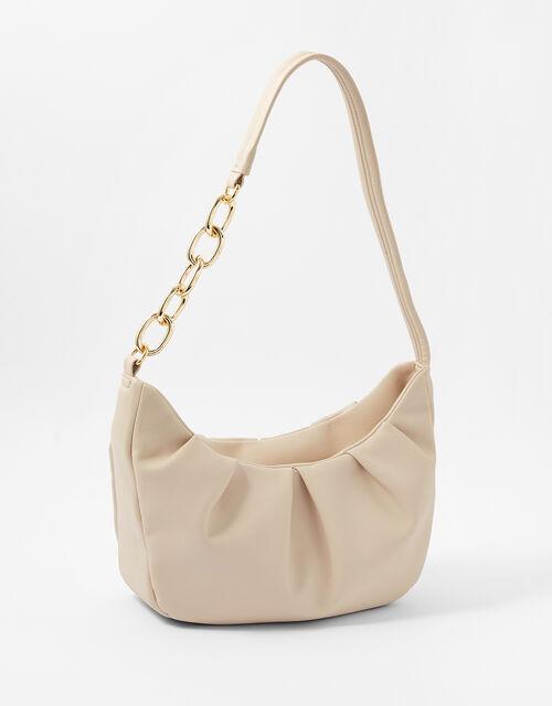 Stella Chain Strap Bag, Cream (CREAM), large