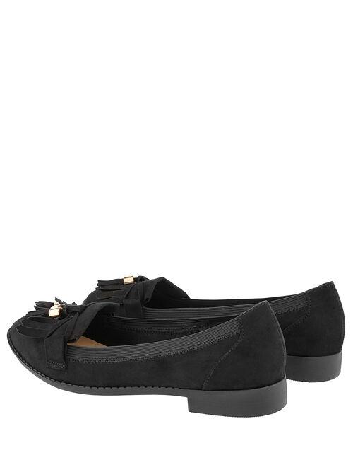 Elasticated Latimer Loafer, Black (BLACK), large