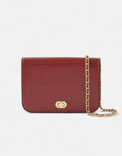 Evie Cross-Body Bag, Red (RED), large