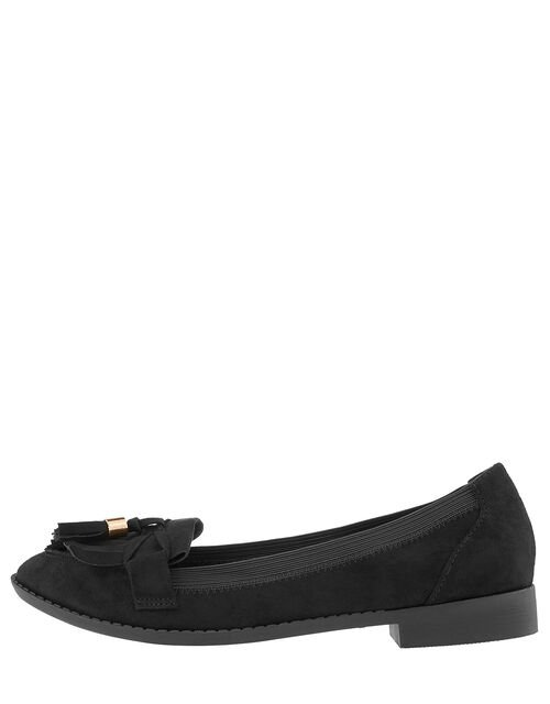 Elasticated Latimer Loafer, Black (BLACK), large