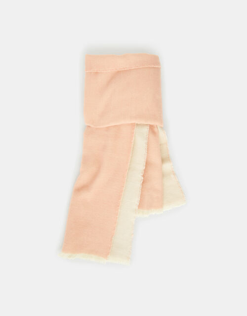 Wells Antibacterial Two-Tone Blanket Scarf, Pink (PINK), large